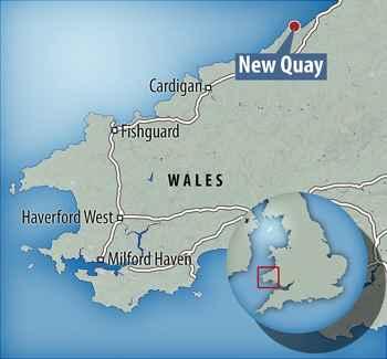 New Quay, Gales