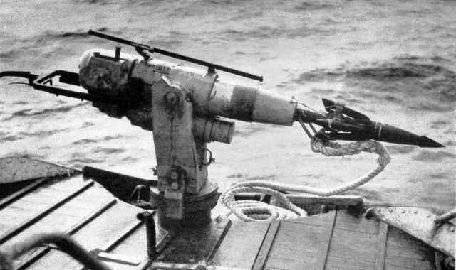 arpón para caza de ballenas