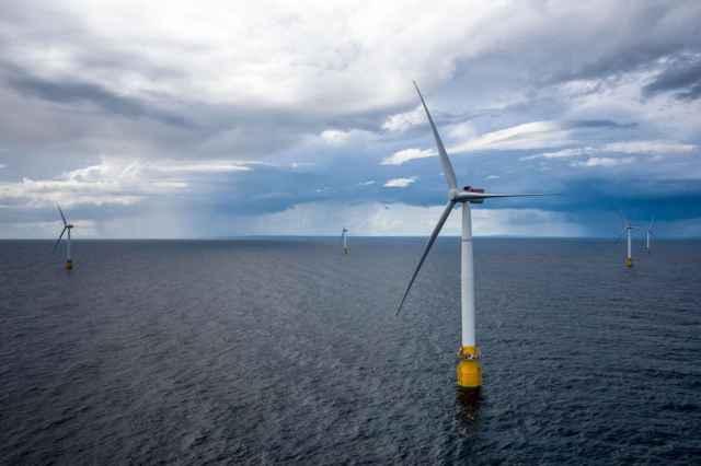 parque eólico marino flotante de Escocia