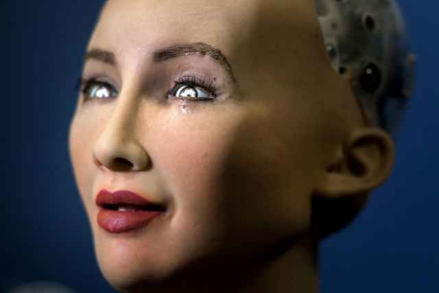 robot con piel de medusa