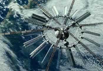 satélite de la película Geostorm