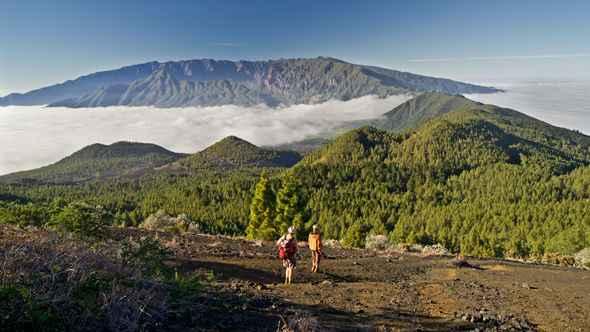 volcán Cumbre Vieja de la La Palma