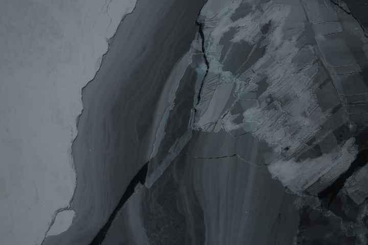 dedos de hielo en la Antártida, foto DMS