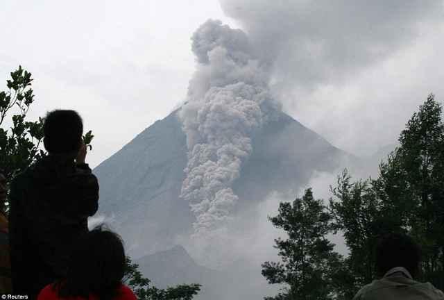 erupción del Monte Agung, Bali
