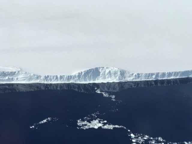 frente del Iceberg A-68