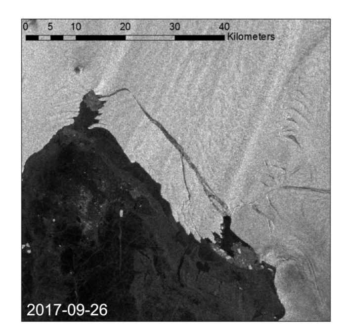 iceberg gigante en la Antártida