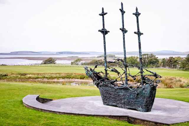 monumento a la hambruna irlandesa