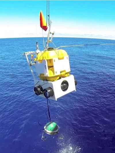 sismómetro del  fondo del océano