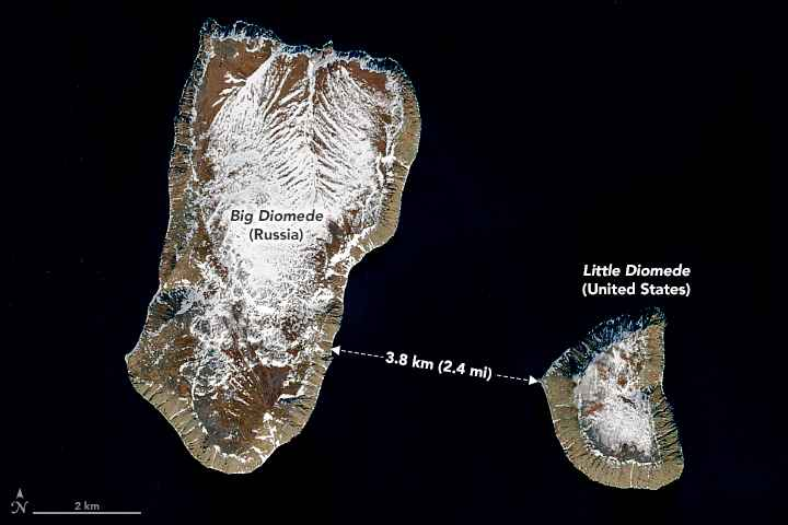 Islas Diomede