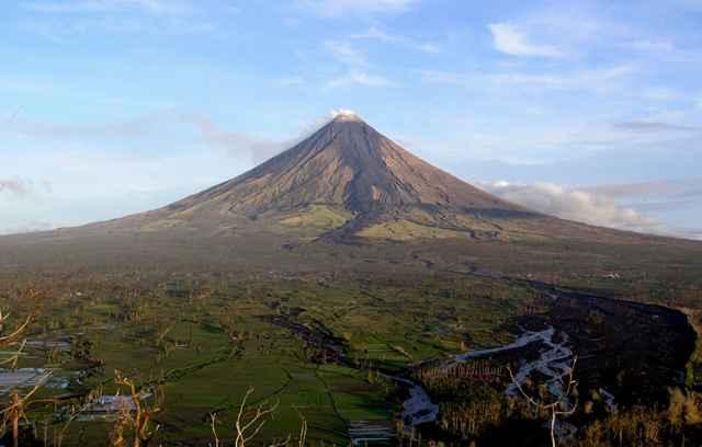 Monte Mayon en 2006