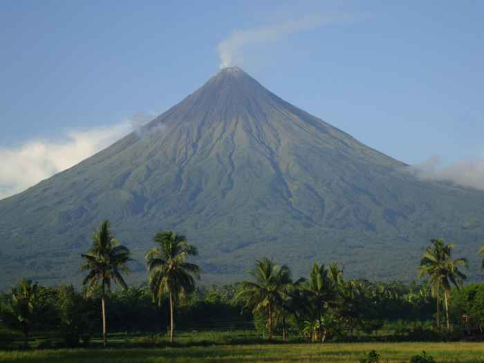 Monte Mayon, Filipinas