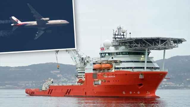 Seabed Constructor a la búsqueda del MH370