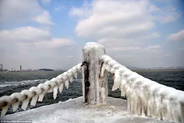 China congelada