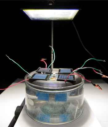 dispositivo de hidrógeno de Daniel Esposito