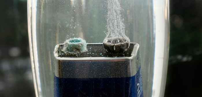 electrolisis de agua de mar