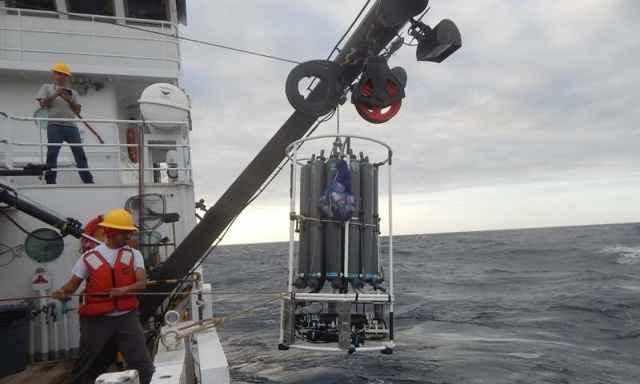 estudio de salinidad en los océanos