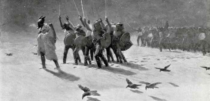 incursión de vikingos