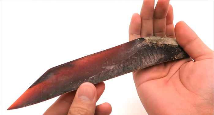 pez japonés cuchillo katsuobushi