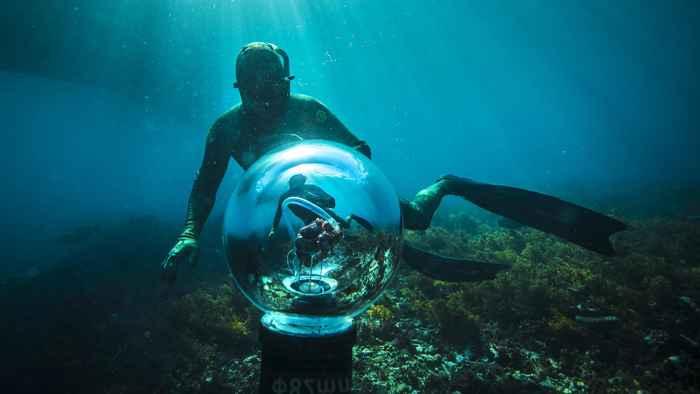 simulador submarino de corazón