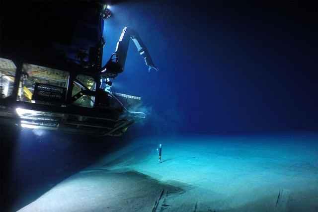 vehículo submarino Jason
