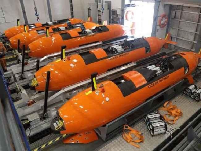 vehículos submarinos autónomos