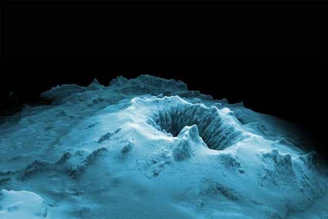 volcán submarino Havre