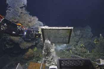 exploración de respiraderos hidrotermales