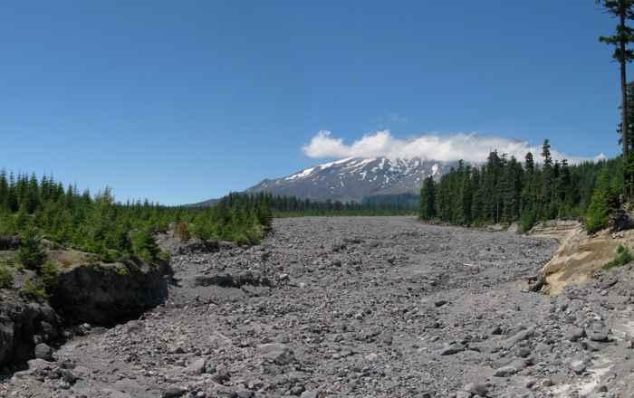 lahar Monte St. Helens