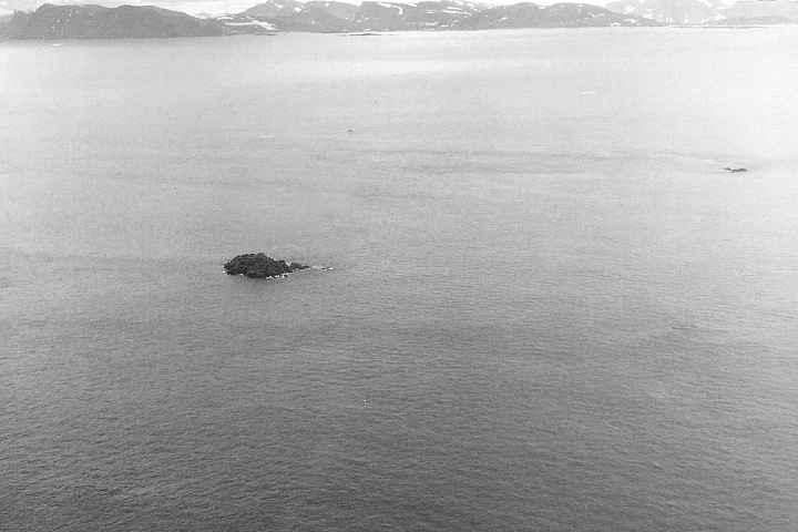 isla Landsat, Canadá - vista aérea