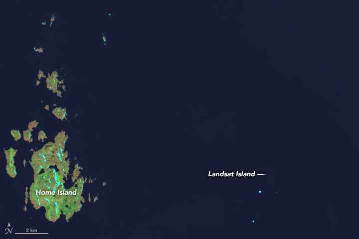 isla Landsat, Canadá