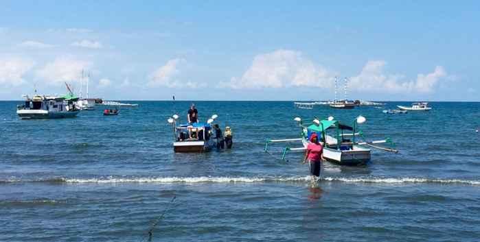 pesca tradicional en Indonesia