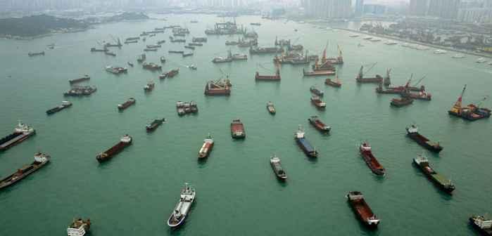 ruido de barcos