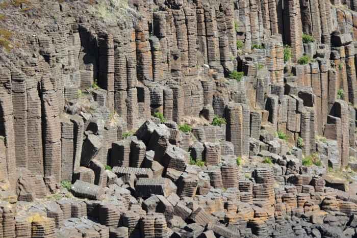 basalto columnar