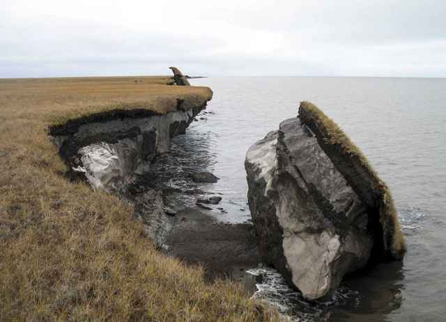 colapso del permafrost
