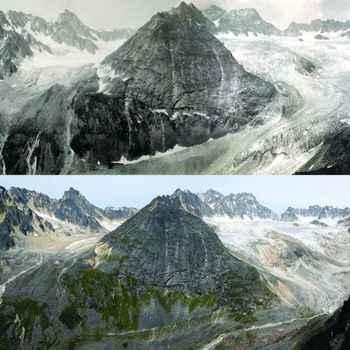 deshielo de glaciares en Alaska