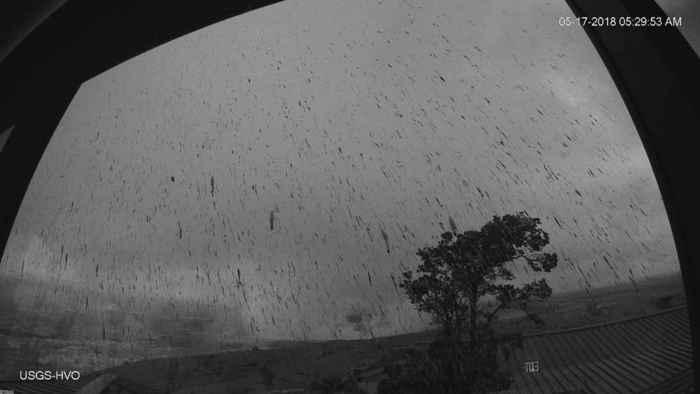 erupción explosiva del volcán kilauea