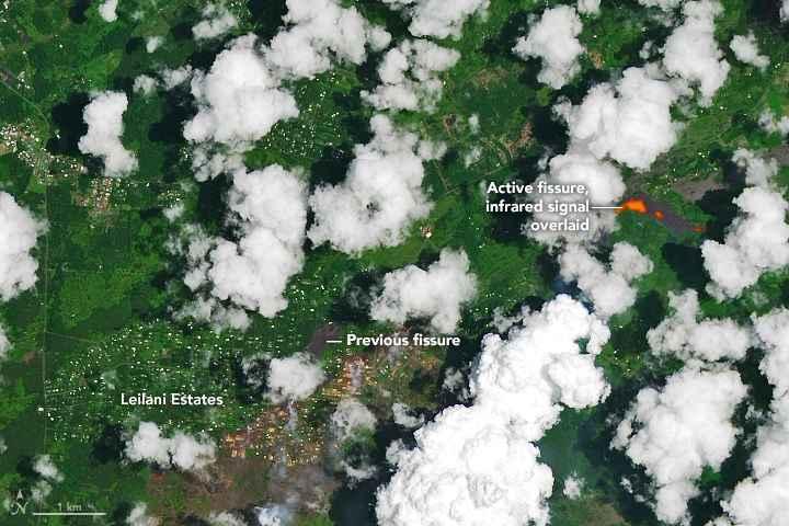 fisura del volcán Kilauea