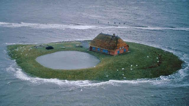 isla Halligen, Mar de Wadden