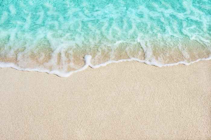 arena de la playa