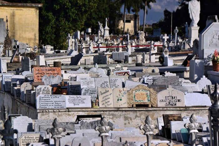 el cementerio Colón de la La Habana en la actualidad