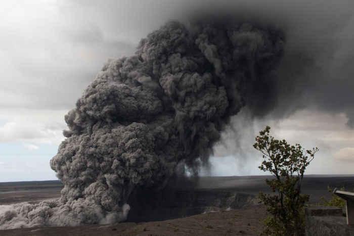 ceniza volcánica