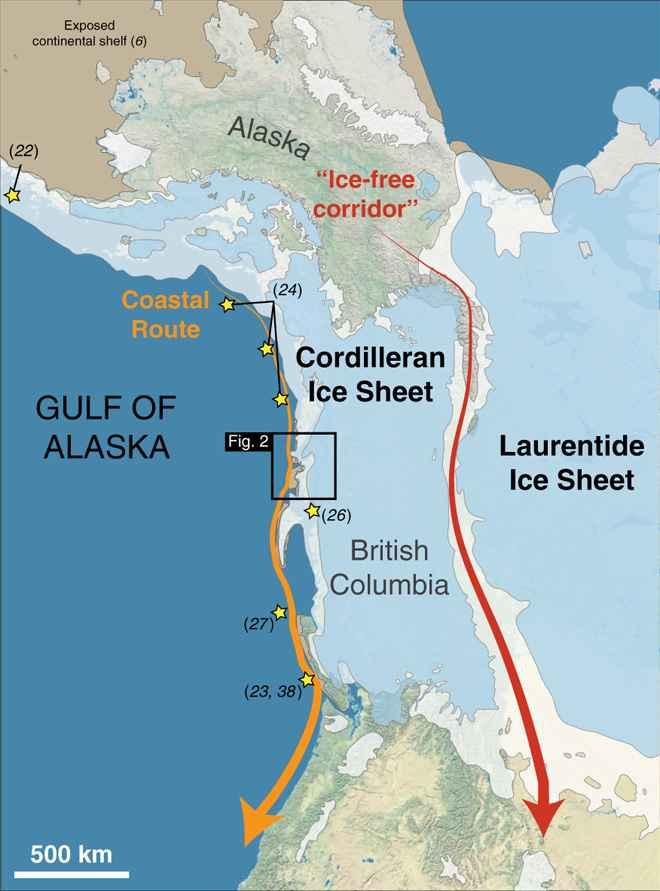 corredor libre de hielo en Alaska
