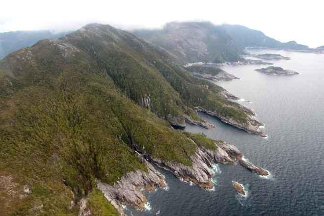 costa actual de Alaska