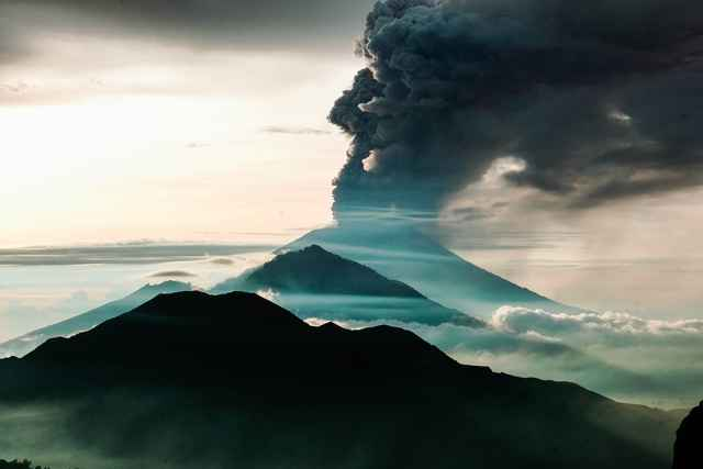 erupciones volcánicas antiguas