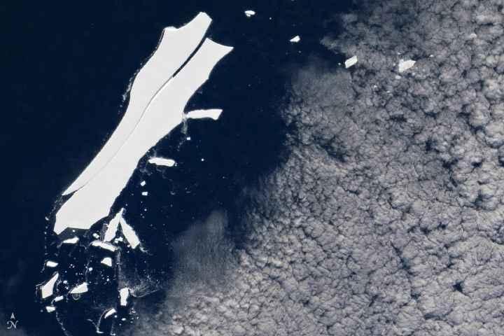 iceberg B-15Z