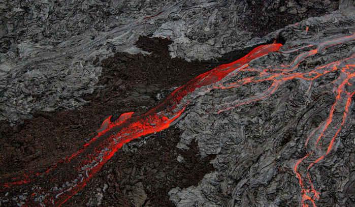 lava Pāhoehoe y 'A'ā