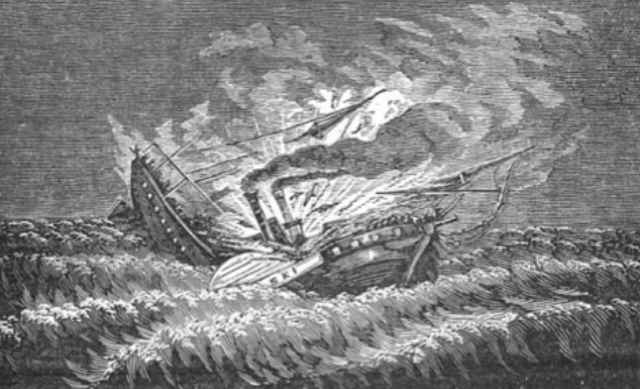 naufragio del vapor Pulaski