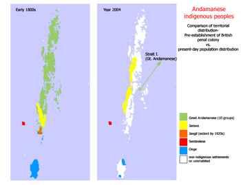 pueblos indígenas en las islas Andaman