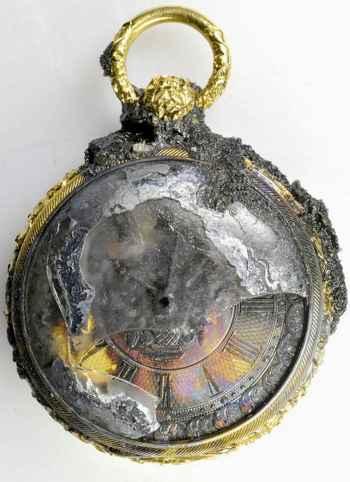 reloj de oro del vapor Pulaski