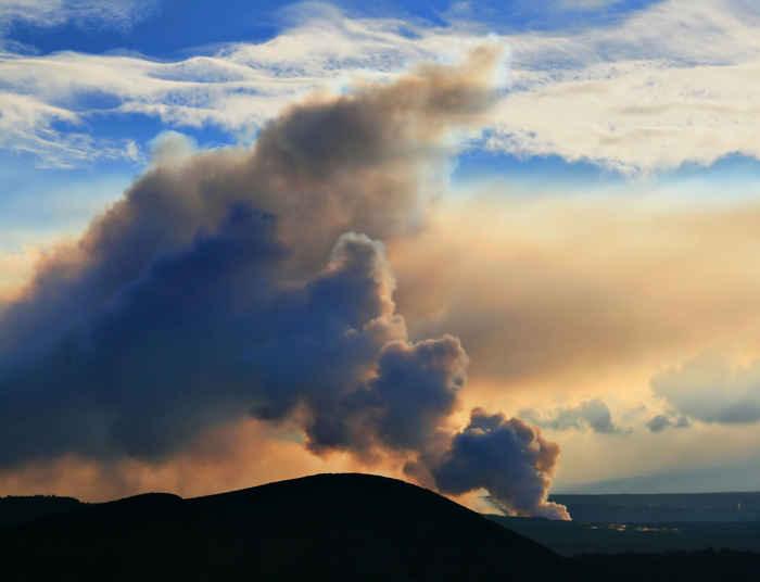 vog emitido por el volcán Kilauea